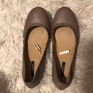 Taupe Flats from forever 21
